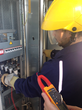 Complete care services for PVS800 central inverter in Thiva-Greece
