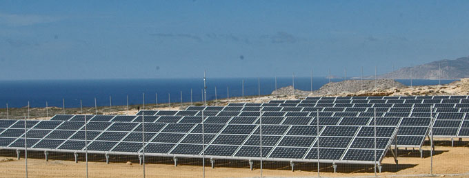 3x70kW PV Plant in Karpathos, Greece