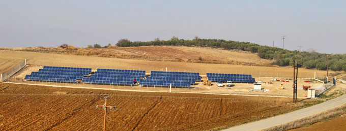 100kW PV Plant in Serres, Greece