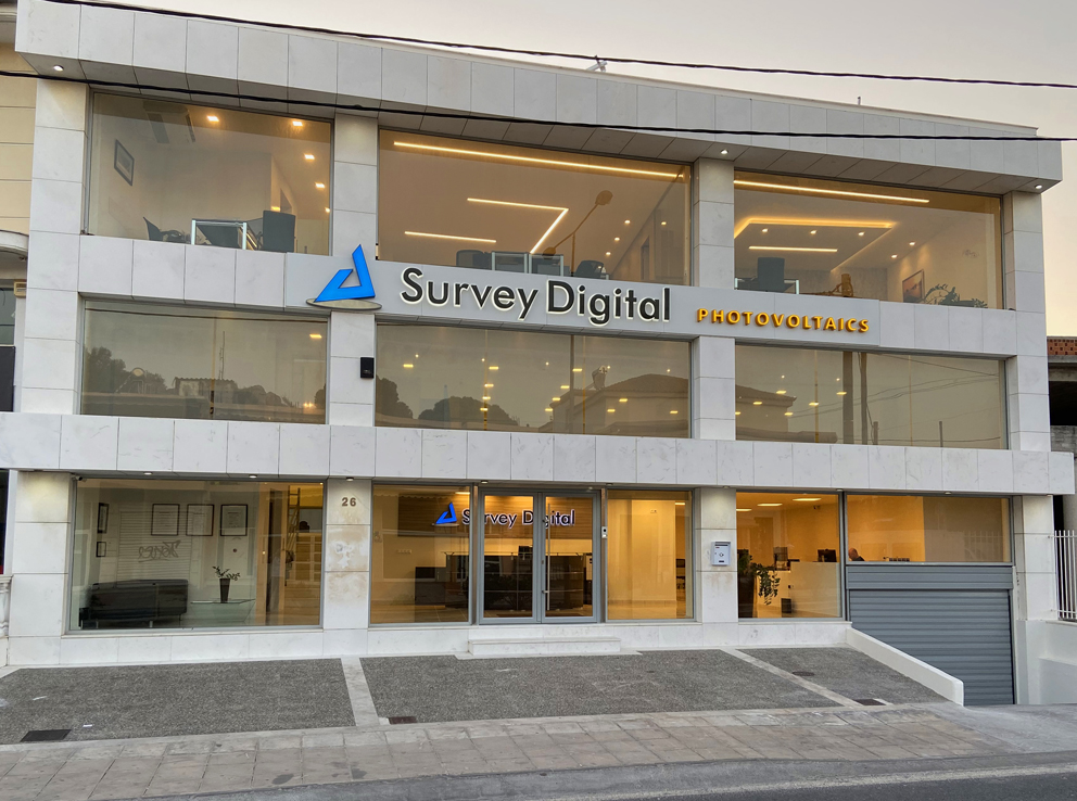 Survey Digital moved to a new office bulding
