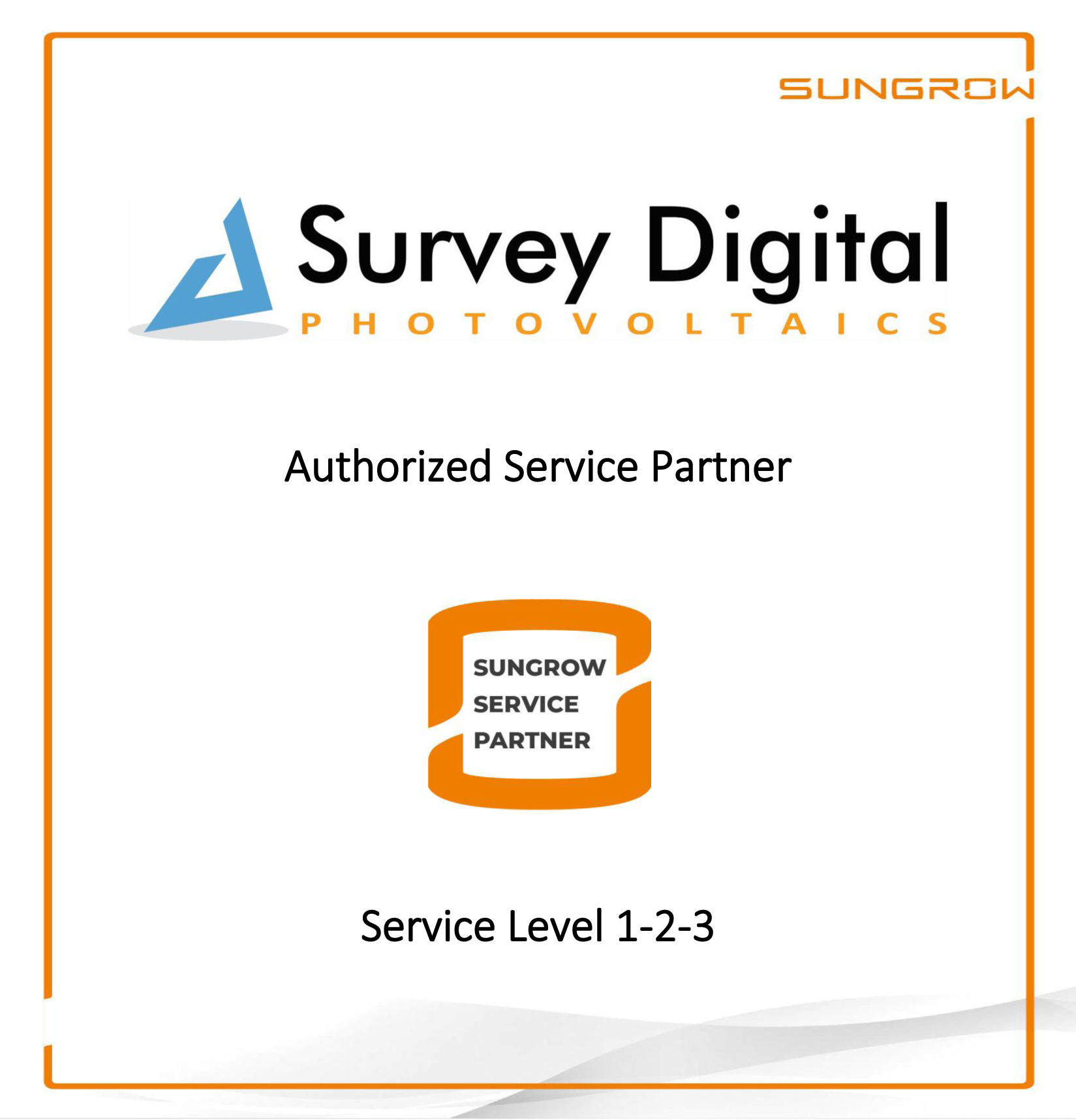 Sungrow Authorized Service Partner