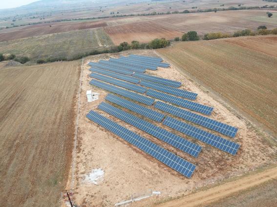 499.95 kWp, στη θέση Αγρόκτημα Χρυσαυγή 185, Δήμος Λαγκαδά Ν. Θεσσαλονίκης.