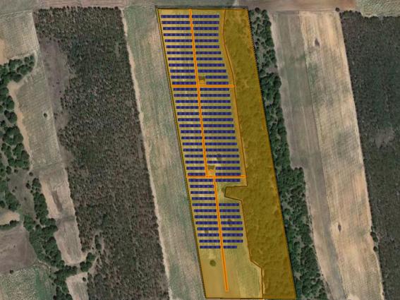 """Φ/Β έργο 2.999,68 kWp, στην περιοχή """"Σιταριάς"""" Διδυμότειχο."""