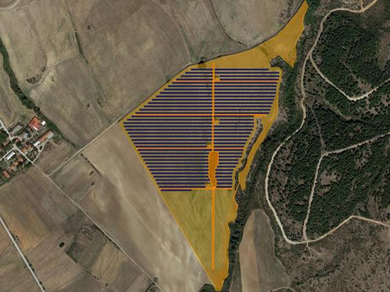 """Φ/Β έργο 9.999,00 kWp, στην περιοχή """"Ηλιόφωτο"""" Κιλκίς."""