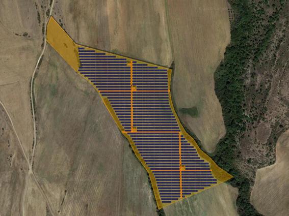 """Φ/Β έργο 9.003,40 kWp, στην περιοχή """"Ηλιόφωτο"""" Κιλκίς."""