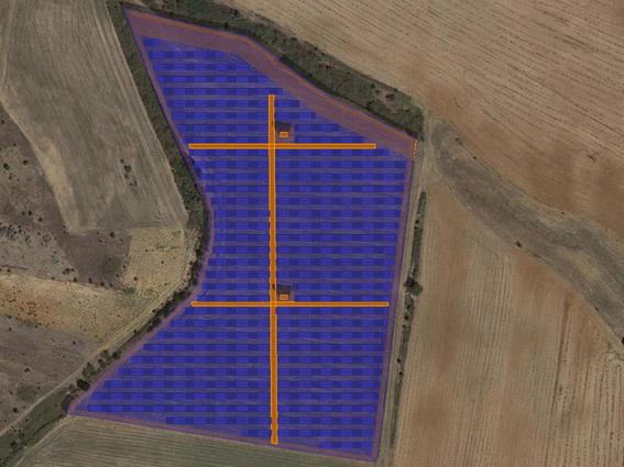 """Φ/Β έργο 4.302,36 kWp, στην περιοχή""""Καλλίδρια"""" Κιλκίς."""