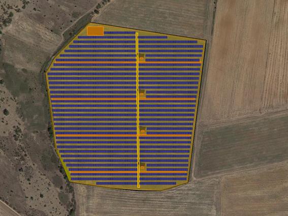 """Φ/Β έργο 8.171,82 kWp, στην περιοχή""""Καλλίδρια"""" Κιλκίς."""
