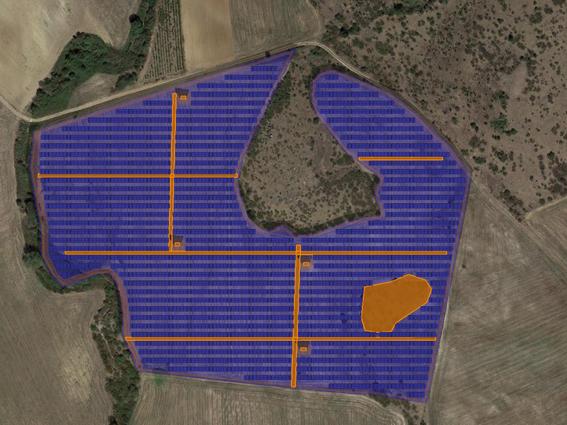 """Φ/Β έργο 9.365,07 kWp, στην περιοχή""""Ηλιόφωτο"""" Κιλκίς."""