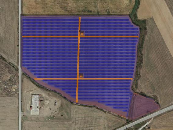 """Φ/Β έργο 7.494,72 kWp, στην περιοχή""""Ηλιόφωτο"""" Κιλκίς."""